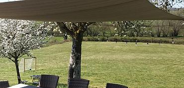 Schaduwdoek rechthoek 3x5 meter
